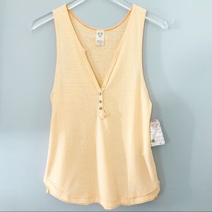 Free People | Shake It Up Henley Tank